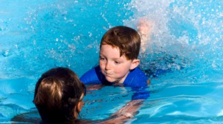 Learn to swim with one of swim instructors